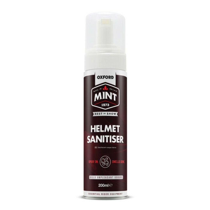 Mint Helmet Sanitiser Foam 200ml