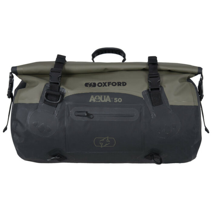 Oxford Aqua T-50 ROLL BAG - KHAKI/BLACK