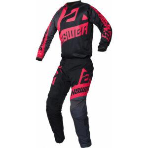 2020 Answer Ladies Syncron Voyd MX Pant Black/Charcoal/Pink