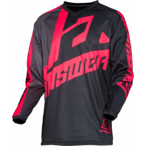 2020 Answer Ladies Syncron Voyd MX Jersey Black/Charcoal/Pink