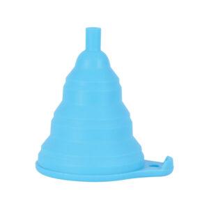 Silicone oil funnel