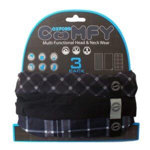 Oxford Comfy 3-Pack Black &amWhite