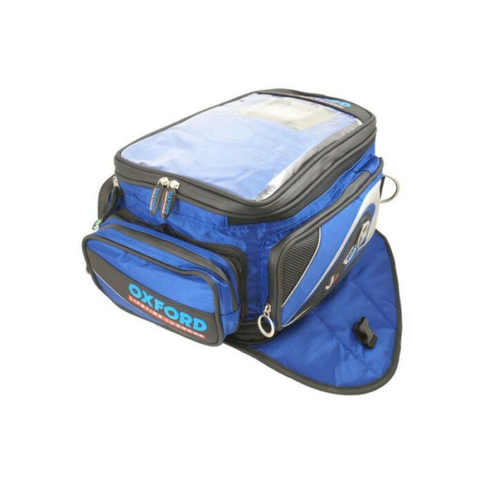 Oxford X40 Expander Tankbag Blue OL132D