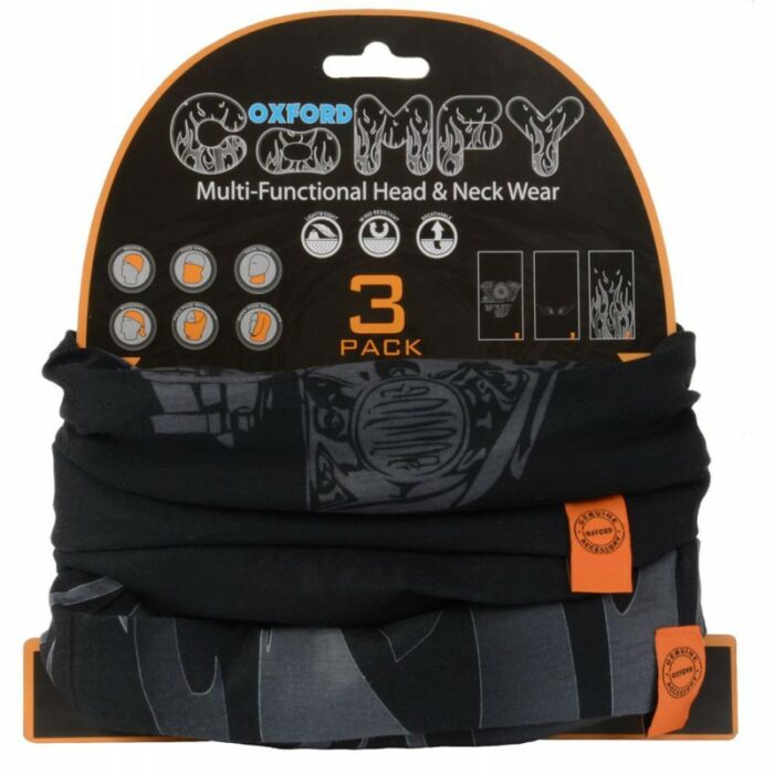 Oxford Comfy 3 Pack HD-Graphics