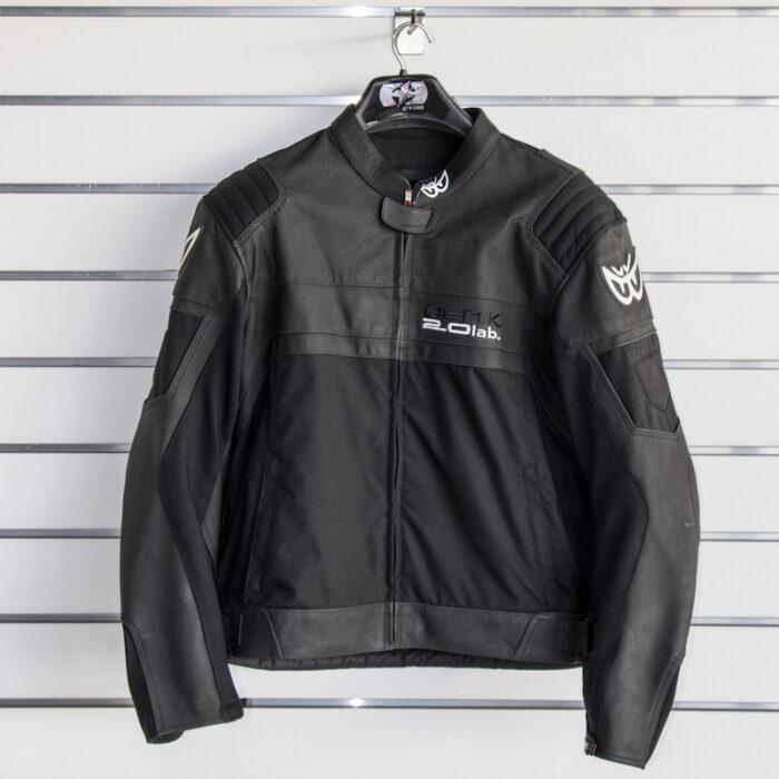 Berik Leather Jacket - Black