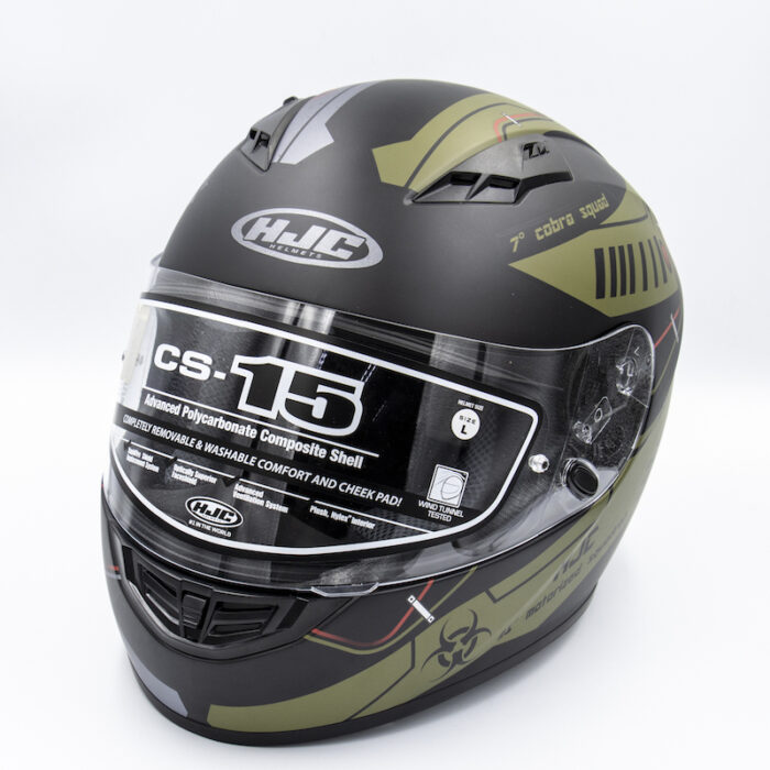 HJC CS15 Helmet - Cobra Squad