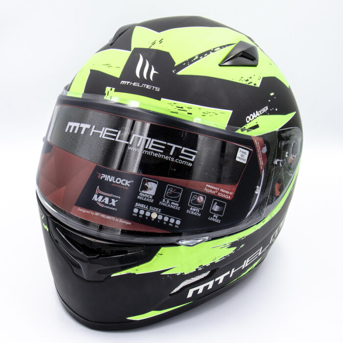 MT Helmet - Green/Black