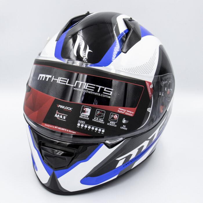 MT Helmet - Blue/Black