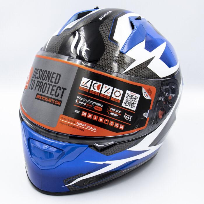 MT Stinger Helmet – Blue